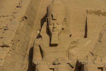 Ramses II en Abu Simbel