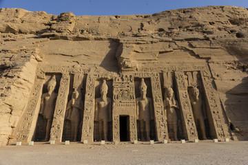 Templo de Nefertari en Abu Simbel