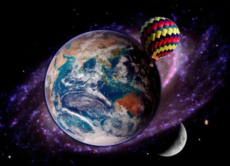 Fantasy Space Balloon