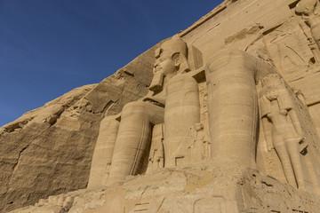 Templo de Ramses II en Abu Simbel