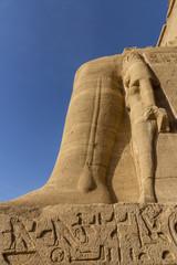 Grafitos en Abu Simbel