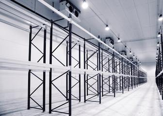 Large newly build warehouse