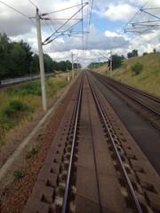 Schienen bei Stendal