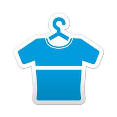Pegatina simbolo camiseta