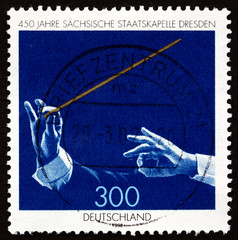 Postage stamp Germany 1998 Saxony State Orchestra