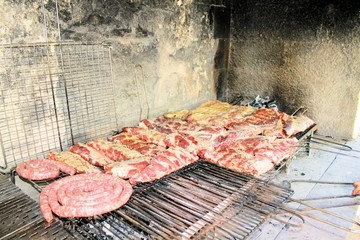 Argentine beef mixed grilled