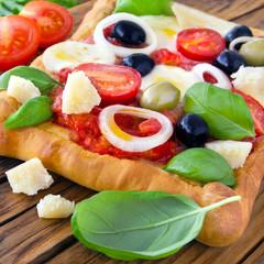 Pizza - Mozzarella - Tomate