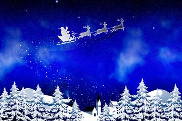 Weihnachten im Schnee © Matthias Buehner