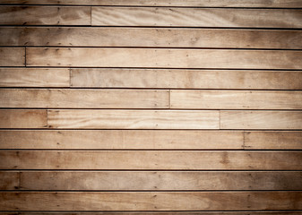 wooden planks background with black vignette borders
