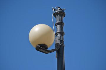 Ball street lamp