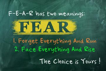 fear concept choice