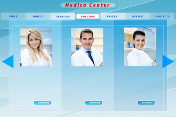 medical business website