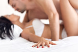 Couple in ecstasy poster
