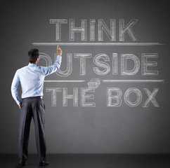 "concept of ""think outside the box"""