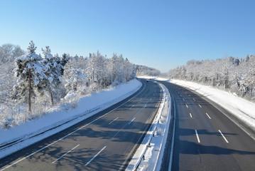Winter highway