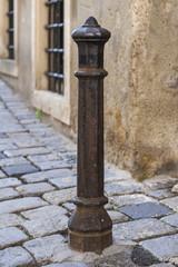 Old Rusty City Pole