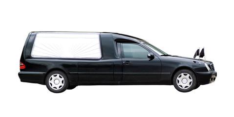 Auto eines Bestattungsunternehmers freigestellt