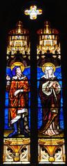 Vitrail de la Cathédrale ou d'une des églises de Limoges