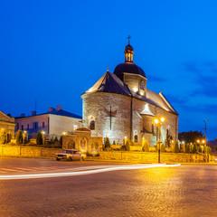 Historic District Kamyanets-Podolsky City. Ukraine.
