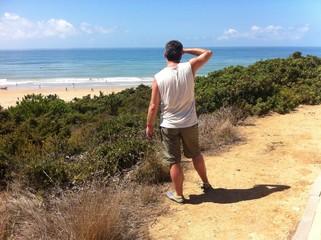 Ausblick auf die Atlantikküste