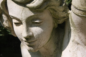 Statue à la française