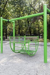 Free swing in the park