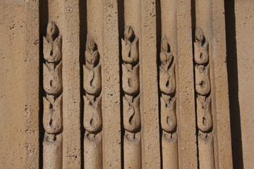 Détail d'un immeuble parisien