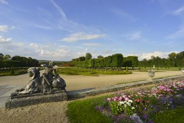 Château de Champs sur marne, le parc