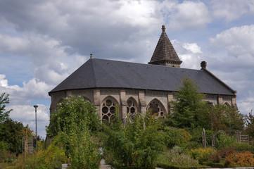 Jardins de l'évêché à Limoges