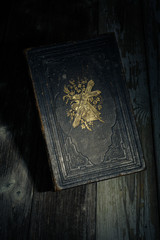 bible in the dark