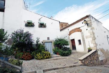 Calle Rincón de la Monja, Cáceres, España