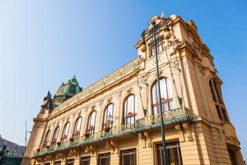 historisches Jugendstil-Gemeindehaus in Prag