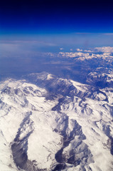 Die Alpen und die Stratosphäre