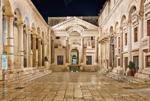 Foto op Aluminium Oude gebouw Diocletian's Palace in Split