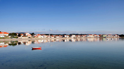Beautiful coastal landscape