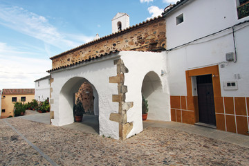 Ermita calle Rincón de la Monja, Cáceres, España