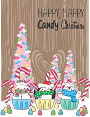 Cupcake natalinos