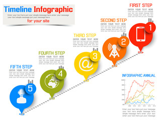 TIMELINE INFOGRAPHIC NEW STYLE  2