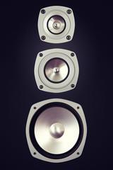 Three Way Big Audio Stereo Loud Speaker
