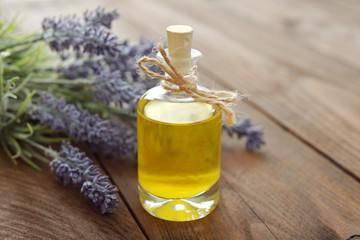 Essential lavender oil