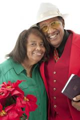 Senior Couple at Christmas