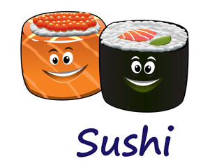 Japanese seafood and sushi