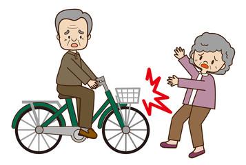 高齢者の自転車事故