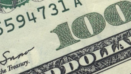 Dollar bills Ultra HD