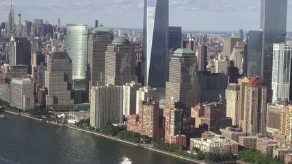 New York City Aerial, Manhattan, Buildings