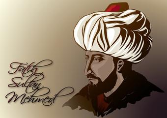Fatih Sultan Mehmed ( renkli )