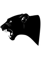 Рычащая львица