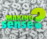 Making Sense 3d Words Letters Understanding Knowledge Grasping I poster