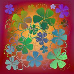 Flowers pattern.Vector