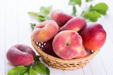 Fresh peaches and nectarines